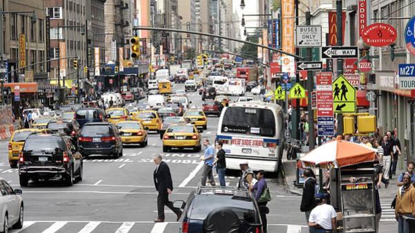 Wall Art - Photograph - New York City Street Scene by Darren Martin