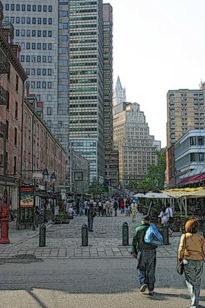 Photograph - New York City Streets 88 by Ericamaxine Price