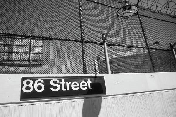 Photograph - New York City Subway 86 Street by Ranjay Mitra