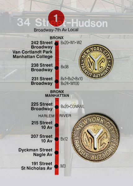 Photograph - New York City Subway Tokens by Gary Slawsky