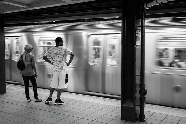 Photograph - New York City Subway Train by Ranjay Mitra