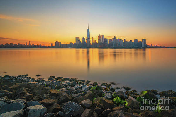 Lower Manhattan Photograph - New York City Sunrise  by Michael Ver Sprill