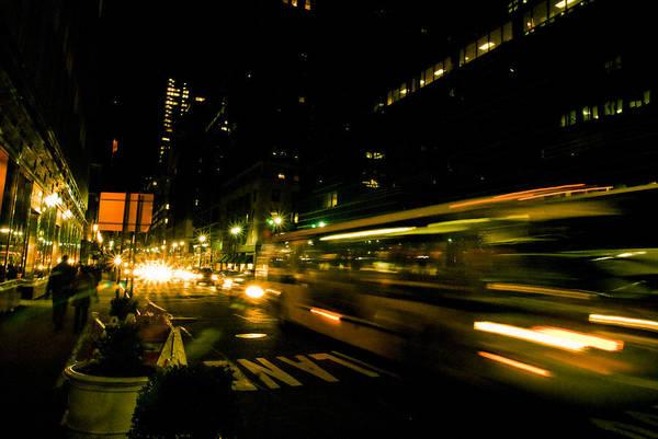 Wall Art - Photograph - New York City Traffic by Patrick  Flynn