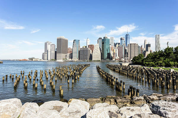 Photograph - New York City Waterfront Park by Didier Marti