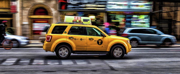 Painting - New York City Yellow Taxicab by Christopher Arndt