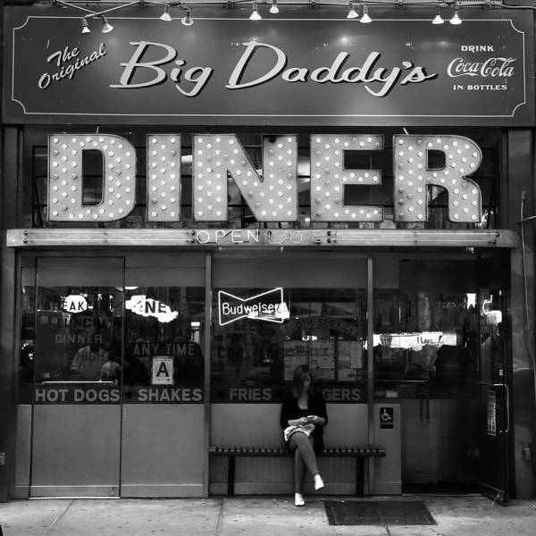 Photograph - New York Diner 1b by Andrew Fare