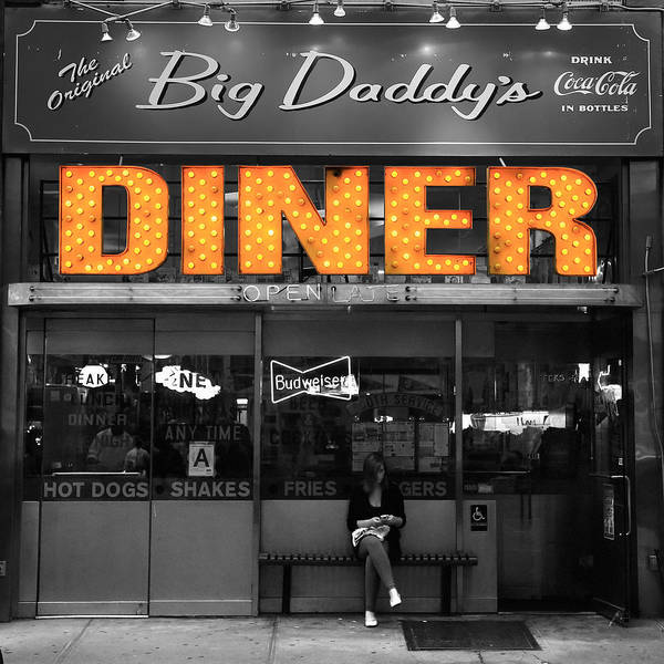 Photograph - New York Diner 1c by Andrew Fare