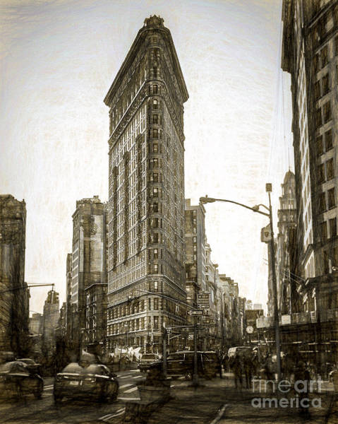 Wall Art - Photograph - New York Flat Iron by Perry Webster