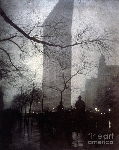 Photograph - New York: Flatiron, 1905 by Granger