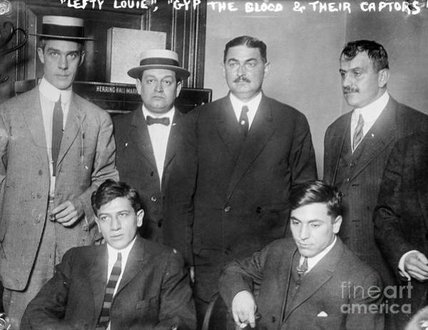 Photograph - New York Gangsters, 1912 by Granger