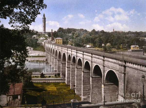 Wall Art - Photograph - New York, High Bridge, C1900 by Granger
