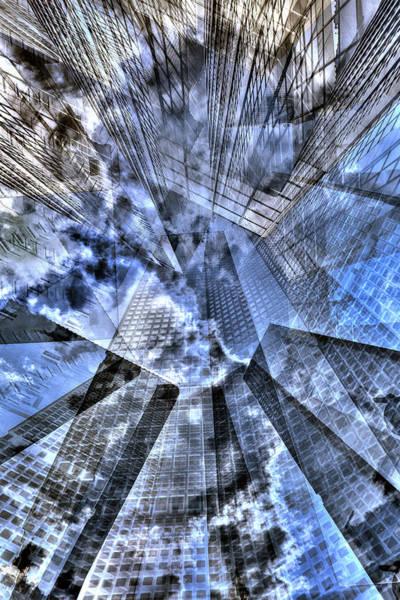 Photograph - New York Iris Collage by Dave Beckerman