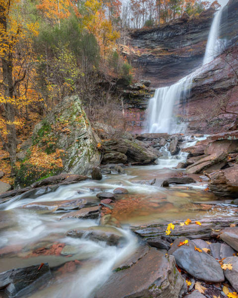 Kaaterskill Clove Photograph - New York Kaaterskill Falls by Bill Wakeley