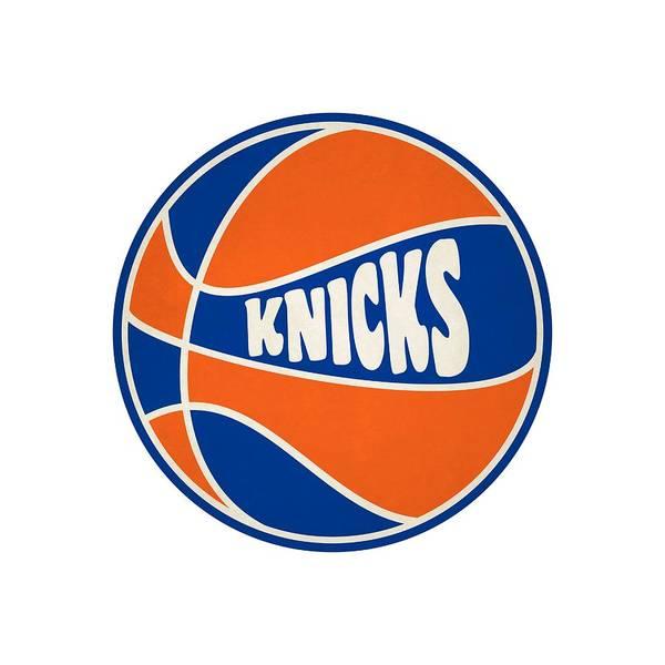 Hoop Photograph - New York Knicks Retro Shirt by Joe Hamilton