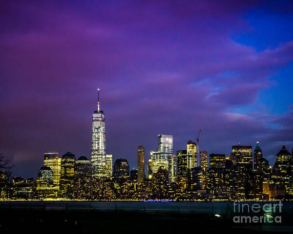 Wall Art - Photograph - New York Lights by Perry Webster