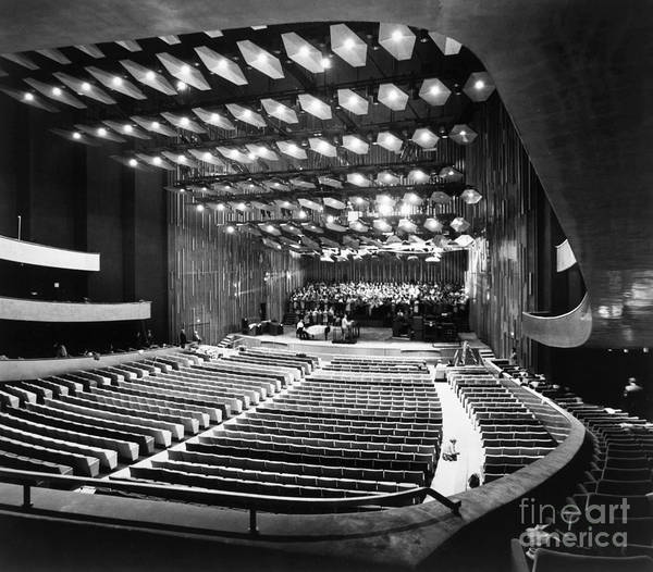 Photograph - New York: Lincoln Center by Granger