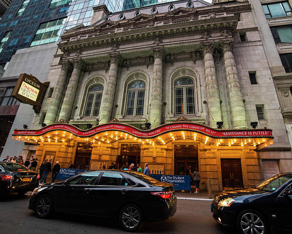 Photograph - New York Lyceum Theater by Toby McGuire