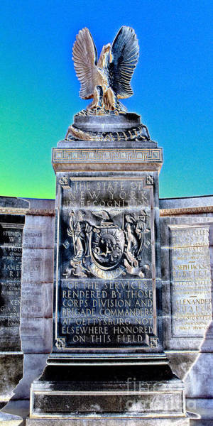 Wall Art - Photograph - New York Monument by Paul W Faust - Impressions of Light