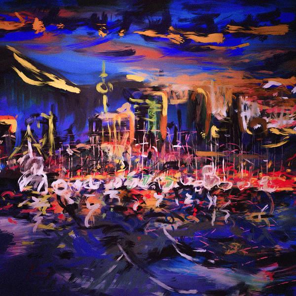 Painting - New York New York by Vit Nasonov