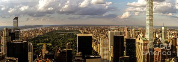 Photograph - New York Panorama by Franz Zarda