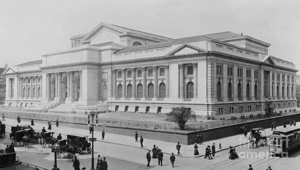 Painting - New York Public Library by Celestial Images