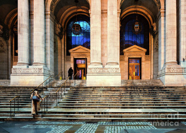 Photograph - New York Public Library by M G Whittingham