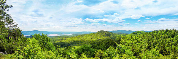 Photograph - New York Scenic Adirondack Mountains Panorama by Christina Rollo