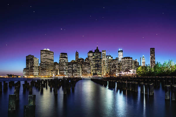Cityscapes Wall Art - Photograph - New York Sky Line by Nanouk El Gamal - Wijchers