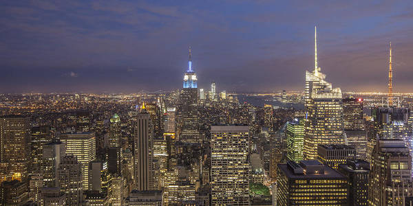 Photograph - New York Skyline  by Juergen Held