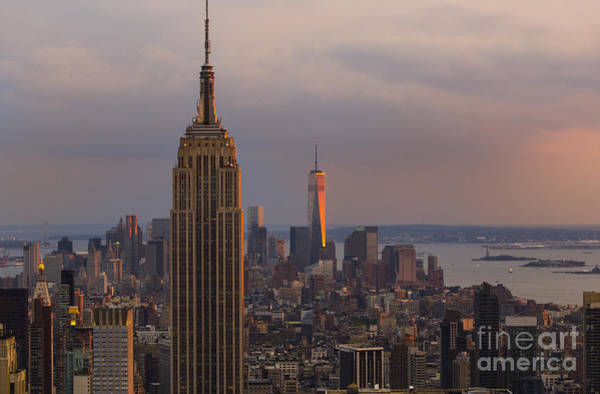 Photograph - New York Skyline by Keith Kapple