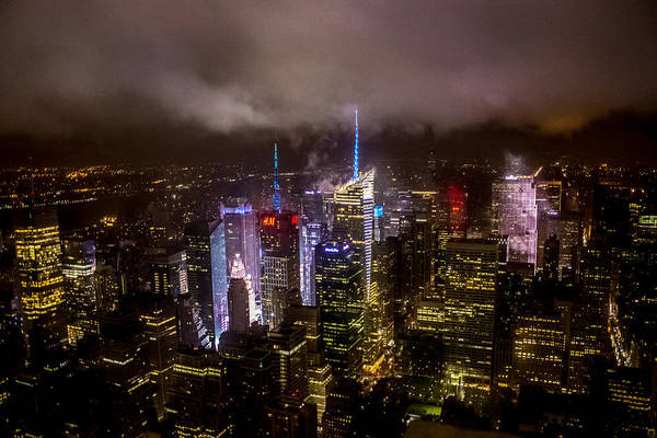 The Empire Photograph - New York Skyline by Martin Newman