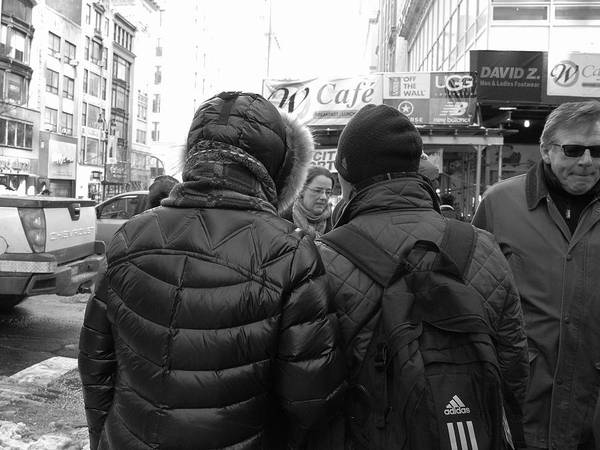 Photograph - New York Street Photography 66 by Frank Romeo