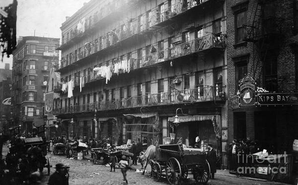 Tenement Photograph - New York: Tenements, 1912 by Granger
