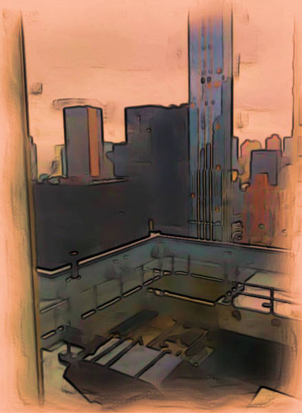 Digital Art - New York by Tristan Armstrong