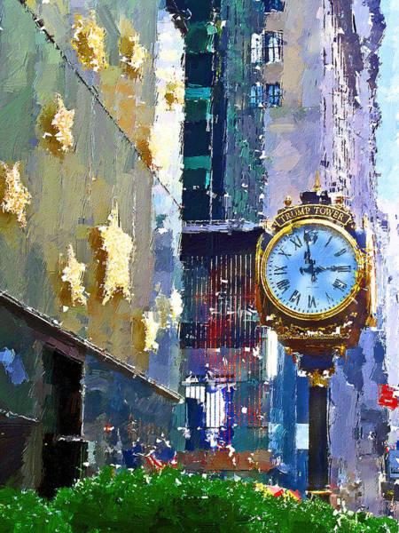 Trump Digital Art - New York Trump Tower by Yury Malkov