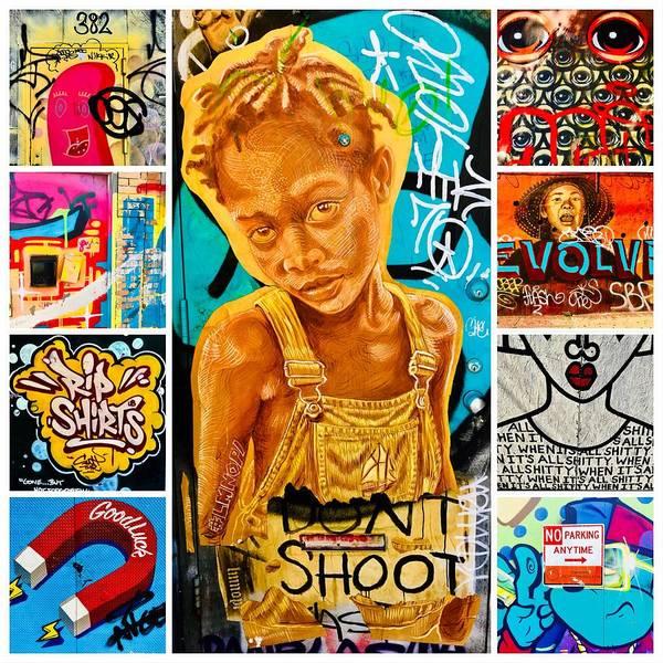Wall Art - Photograph - New York Urban Art Collection by Funkpix Photo Hunter