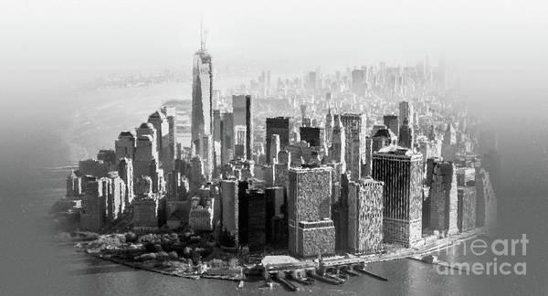 Manhattan Skyline Painting -  New York Usa  by Gull G