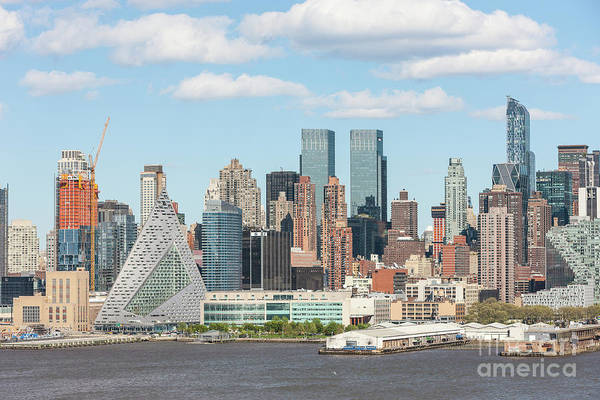 Photograph - New York West 57th Street Skyline I by Clarence Holmes