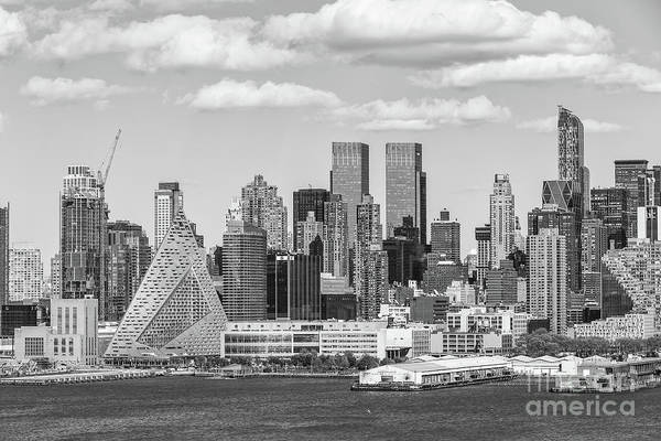 Photograph - New York West 57th Street Skyline II by Clarence Holmes