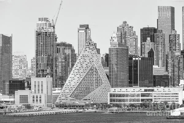 Photograph - New York West 57th Street Skyline Iv by Clarence Holmes