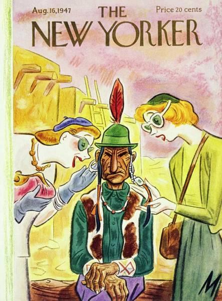 American Painting - New Yorker August 16 1947 by Julian De Miskey