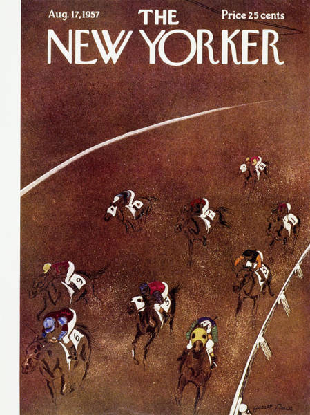 Painting - New Yorker August 17 1957 by Garrett Price