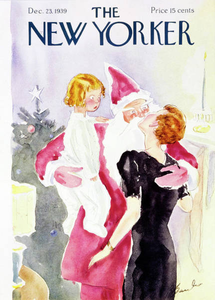 Magazine Cover Drawing - New Yorker December 23rd 1939 by Perry Barlow
