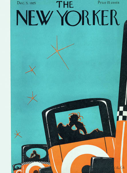Silhouette Painting - New Yorker December 5 1925 by Max Ree