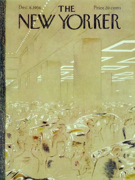 Painting - New Yorker December 8 1956 by Garrett Price
