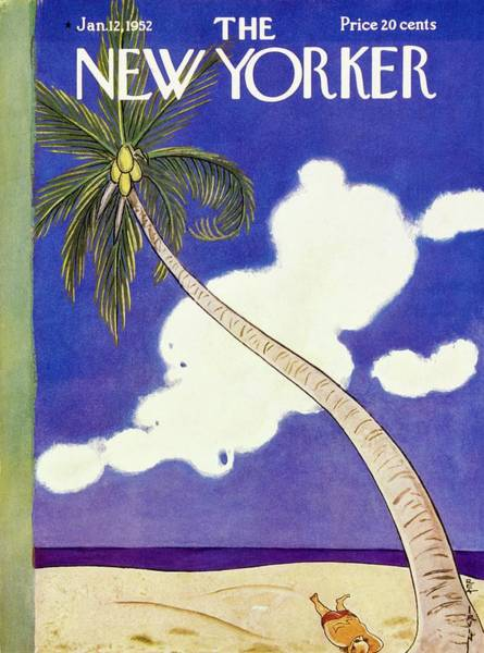 Illustration Painting - New Yorker January 12 1952 by Rea Irvin