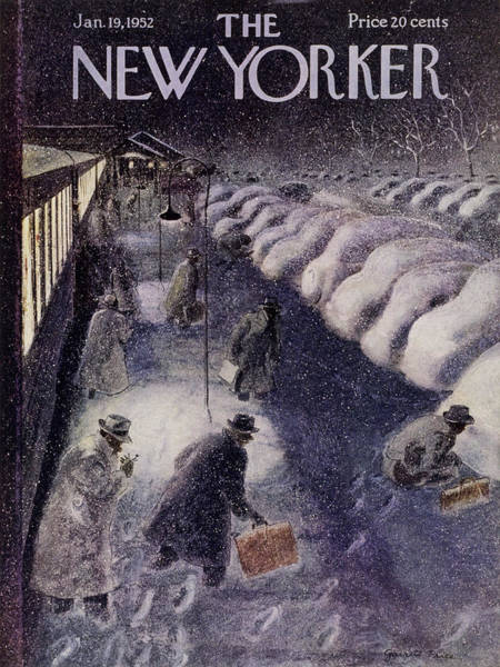 Painting - New Yorker January 19 1952 by Garrett Price