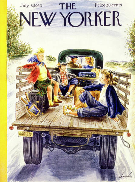 New Yorker July 8 1950 Art Print