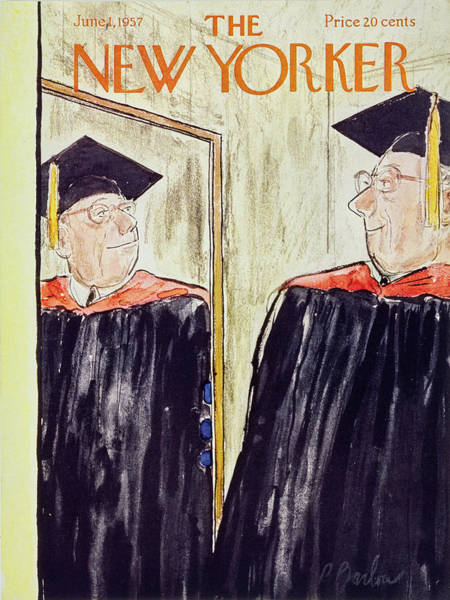 1 Painting - New Yorker June 1 1957 by Perry Barlow