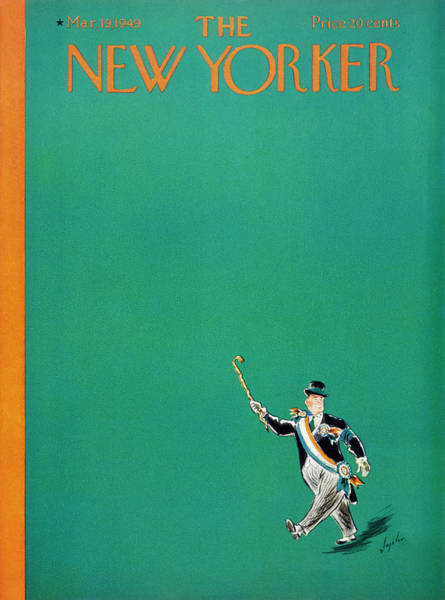 Wall Art - Painting - New Yorker March 19, 1949 by Constantin Alajalov